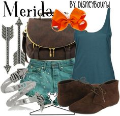 Merida! Love this outfit for her... A little casual but it is nice!