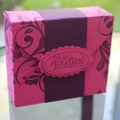 Envelope Punch Board Tea box https://www.youtube.com/watch?v=eVfS0rjNjuk