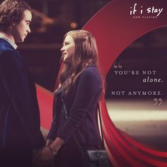 There's no use fighting it, Mia. | If I Stay