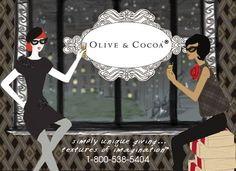 Olive & Cocoa have wonderful custom gifts.  Best to  you for 2012!  Cheers from @classiclegacy