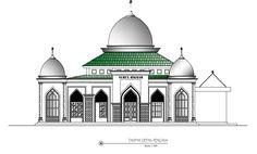Bridge Structure, Islamic Wall Art, House Front Design, Sky Art, Islamic Architecture, Civil Engineering, Autocad, Taj Mahal, House Plans