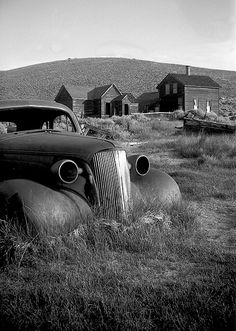 In 1932, Bodie was hit with a fire that was the beginning of the end for the mining town, and it was completely deserted by 1950