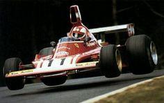 Clay Regazzoni - Ferrari 312 B3 Nurburgring 1974