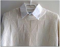 Embroidery On Kurtis, Kurti Embroidery Design, Knitting Stitches, Knitting Designs, Clothing Patterns, Knitting Patterns, Knit Cardigan Pattern, Knitwear Fashion, Knitted Hats