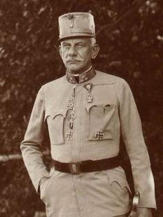 Generaloberst Josef Freiherr Roth von Limanowa-Lapanöw (1859.1927) -- Commander of 14th Corps and 20th Corps during WWI. .- Copyright Enzo Calabresi