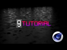 CINEMA 4D TUTORIAL: Creating A Wet Surface/Concrete Look (Simple & Easy) - YouTube