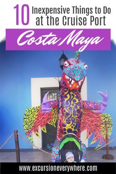 10 Inexpensive Things to do at the Costa Maya Cruise Port. Costa Maya is one of those ports that you can completely wing. That way, you save money to do other things. Best Cruise, Cruise Port, Cruise Travel, Cruise Vacation, Cruise Tips, Family Cruise, Costa Maya Mexico, Cruise Destinations, Royal Caribbean Cruise