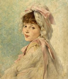 William Henry Margetson (English, Portrait of Gabrielle Réjane as a Young Actress Kensington School, Irish Painters, English Artists, British Artists, Young Actresses, Portraits, Pre Raphaelite, Victorian Art, Vintage Artwork