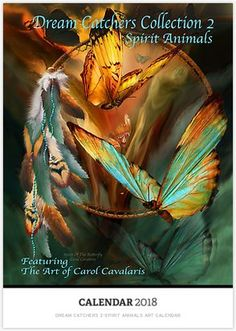 Dream Catcher - Spirit Of The Butterfly Art Print by Carol Cavalaris. All prints are professionally printed, packaged, and shipped within 3 - 4 business days. Choose from multiple sizes and hundreds of frame and mat options. Virgo, Fine Art Amerika, Art Papillon, Leo, Dream Catcher Art, Butterfly Canvas, Butterfly Painting, Butterfly Wallpaper, Creation Photo