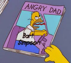 angry dad simpsons - Google Search