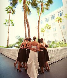 Wedding party picture ideas