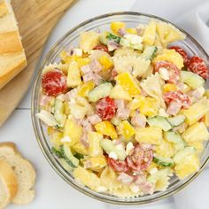 Pineapple Salad, Summer Recipes, Healthy Meals, Pasta Salad, Potato Salad, Bbq, Food And Drink, Yummy Food, Lunch