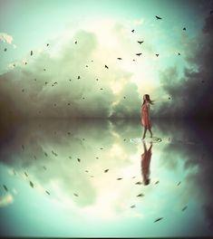 Surreal and Dreamlike Portrait Photography by Nacho Zaitsev #inspiration #photography