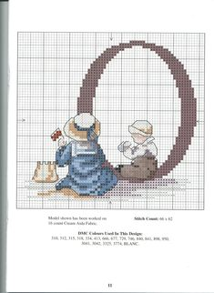 girl + baby play in sand * Cross Stitch Numbers, Cross Stitch Letters, Cross Stitch For Kids, Cross Stitch Baby, Cross Stitch Samplers, Cross Stitch Kits, Cross Stitch Charts, Cross Stitch Designs, Cross Stitching