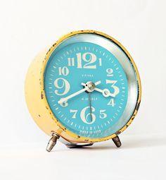 Restored Soviet-Era Alarm Clocks