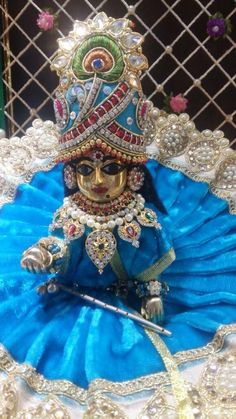 Bal Gopal, Ladoo Gopal, Thread Jewellery, Radhe Krishna, Silk Thread, Captain Hat, Butter, Printables, Peace