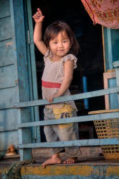 même dans un pays qui a été martyrisé (ici le Cambodge), les enfants représentent toujours un espoir !