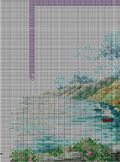 Summer comes gingerbread pattern funny cross stitch cottage Baby Cross Stitch Kits, Cat Cross Stitches, Cross Stitch House, Simple Cross Stitch, Modern Cross Stitch, Cross Stitch Designs, Cross Stitch Embroidery, Needlepoint Patterns, Pdf Patterns