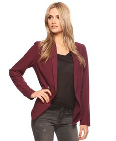 Longline Double-Breasted Blazer | FOREVER21 - 2000018695