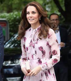 Kate Middleton'ın Çiçekli Sonbahar Stili