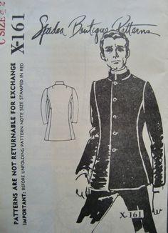 nehru jacket vintage pattern