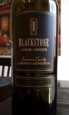 Blackstone Sonoma Reserve Cabernet Sauvignon