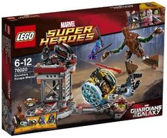 The Lego Marvel Super Heroes: Guardians of the Galaxy Knowhere Escape Mission set from Lego - a great selection of Lego construction sets at Wonderland Models.  http://www.wonderlandmodels.com/products/lego-marvel-super-heroes-gotg-knowhere-escape/