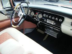 A Coral & White 1956 Imperial