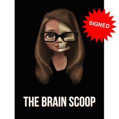The Brain Scoop poster.