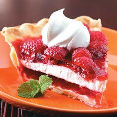 Raspberry Ribbon Pie Recipe