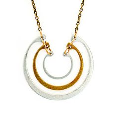 eu.Fab.com | Crow Jane: Tiered Ring Necklace Zinc Plate, at 52% off!