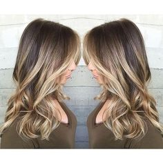 Hot blonde winter balayage hairstyle! HOTTEST in winter <3 Try it out