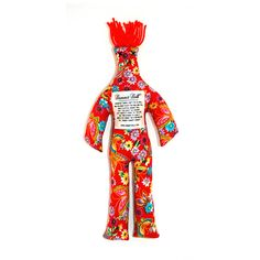 The Dammit Doll — this funky fellow encourages you to express your frustrations constructively…by whacking the ever-living stuffing out of him while hollering damnations. Pissed at your sis? Vexed by your ex? Steamed at your insufferable neighbor? Let it out! Take him to work to ward off daily freak-outs (just make sure your boss doesn't note the resemblance). @Jana Kate we need these...