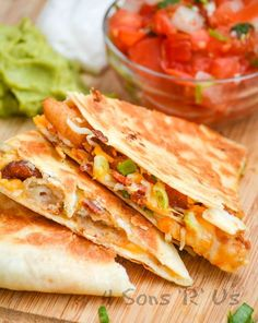 Your favorite wings just met your favorite ooey, gooey Tex Mex treat with these crispy Extra Cheesy Buffalo Chicken Quesadillas. It was destiny, and it is glorious. Show of hands, how many of you follow us on social media? If you do, then this little tid bit wont come as any[Read more]