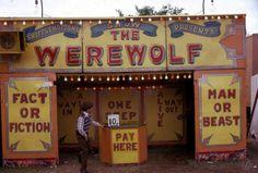 Photo: fairground show