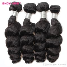 Malaysian Virgin Hair Loose Wave Bundles Mix Length Pure Color Peruvian Indian Brazilian Remy Hair Double Weft Cheap Weft Hair Extensions Hair Extension Wefts Cheap From Bella2016ishow, $76.62| Dhgate.Com