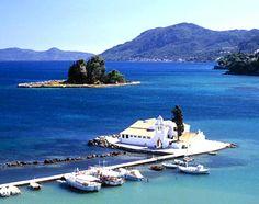 """Pontikonisi"", which literally translates into ""mouse isle"", at 'Kerkyra Island', - Corfu"