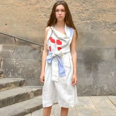 BERNHARD WILLHELM LIP EMBELLISHED DRESS [50%OFF]
