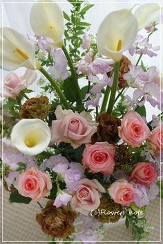 『【今日の贈花】恩師からのご注文』http://ameblo.jp/flower-note/entry-11834930702.html
