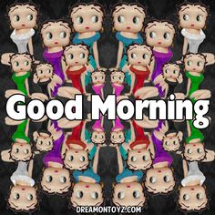 Image result for betty boop good morning
