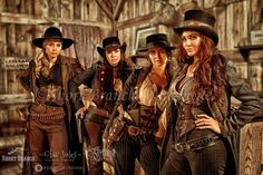 ~ Short Branch Mercantile by Craig Bergsgaard.  Featuring badass female gunslingers of the west. ~