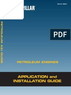 Petroleum a&i Guide - Caterpillar Engines, Electrical Wiring Diagram, Systems Engineering, Reading Online, Pdf, Vehicles, Cord, Layout, Free