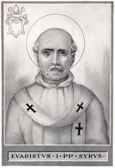 St Evaristus EVARISTUS  (99 – 107)