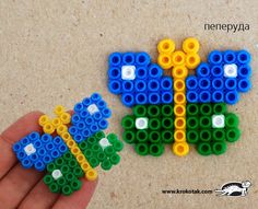 butterfly PYSSLA Beads