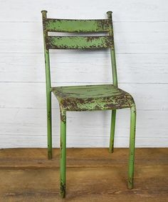 Love this Weathered Tin Chair on #zulily! #zulilyfinds