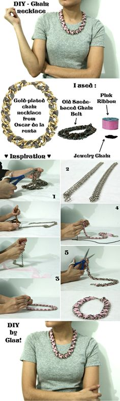 DIY - Chain necklace