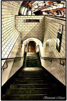 "My novel ""Subway Hitchhikers"" runs through a world like this. Into the Depths - Paris Pray For Paris, I Love Paris, Metro Paris, Romantic Places, Paris Photos, Most Beautiful Cities, City Lights, Paris France, Places Ive Been"