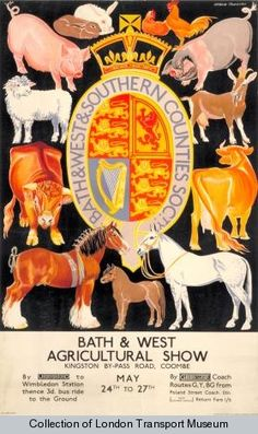 Bath and West agricultural show 1933