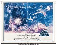 Movie Posters:Science Fiction, Star Wars (20th Century Fox, 1977). Half Sheet (22...