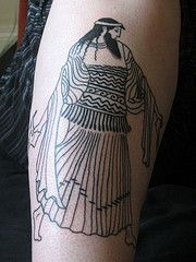 Girl before a mirror , Picasso sleeve #tattoo by David ...